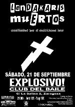Lendakaris Muertos en Zaragoza (Septiembre de 2013)