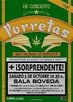 Porretas + Sorprendente! en Barcelona (Octubre de 2013)