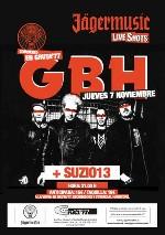 GBH + Suzio 13 en Madrid (Noviembre de 2013)