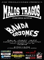 Malos Tragos + Banda Cojones en Madrid (Octubre de 2013)