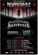 Hatebreed + The Exploited + Napalm Death + Hummano en Madrid (Feb/2014)