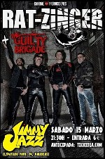Rat-Zinger + The Guilty Brigade en Madrid (Marzo de 2014)