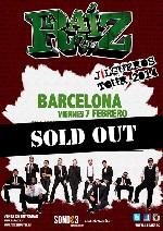 La Raiz en Barcelona (Feb/2014)