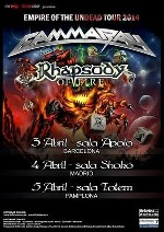 Gamma Ray + Rhapsody of Fire