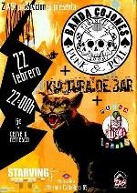 Banda Cojones + Kultura de Bar + Mercancias Peligrosas en Madrid (Feb/2014)