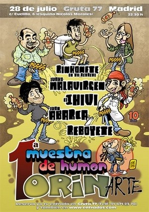 1ª Muestra de Humor OrinArte