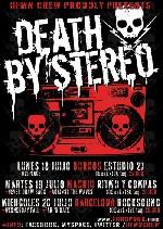 Death by Stereo de gira