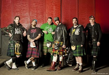 The Real McKenzies - Christmas Tour