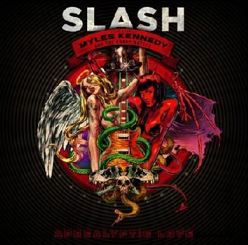 Título y portada del nuevo disco de Slash