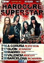 Hardcore Superstar vienen en mayo