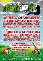 Cartel completo del Derrame Rock 2012