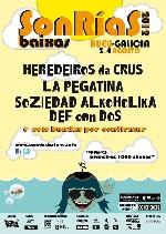 Primeros confirmados para el SonRías Baixas 2012
