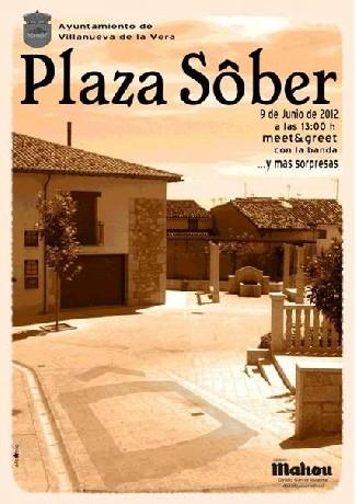 Sôber inauguran este sábado una plaza en Cáceres
