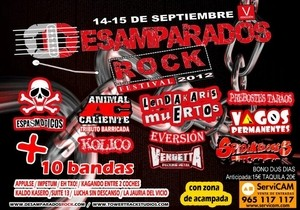 Desamparados Rock 2012