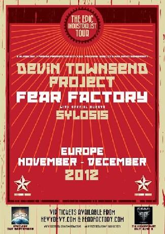 Fear Factory y Devin Townsend en noviembre