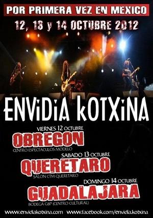 Envidia Kotxina en México