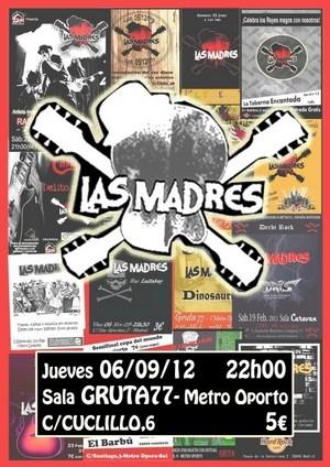 Hoy concierto de Las Madres en Madrid