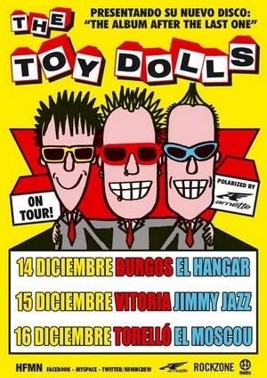 The Toy Dolls vuelven en diciembre