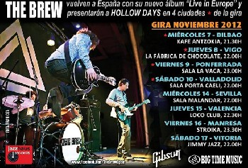 Nueva gira española de The Brew