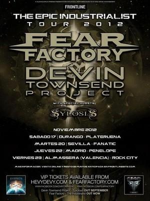 Fear Factory y Devin Townsend mañana en Madrid