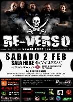 Re-Verso: concierto para grabar videoclip