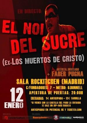 El Noi del Sucre regresa a Madrid