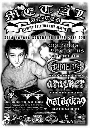 El Metal con Agustín (concierto solidario)