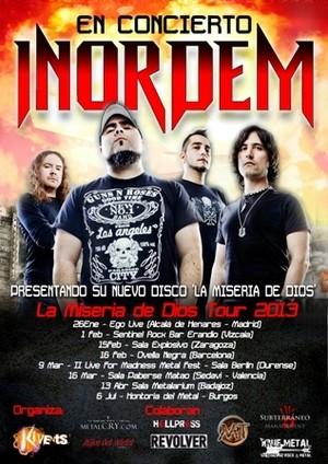 Inordem: La Miseria de Dios Tour 2013