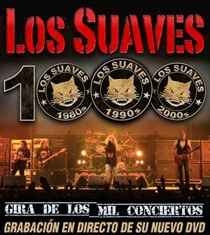 Los Suaves: gira de los mil conciertos