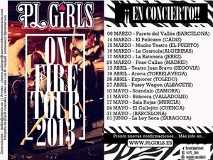 PL Girls: On Fire Tour 2013