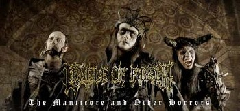 Prohiben a Cradle of Filth actuar en China