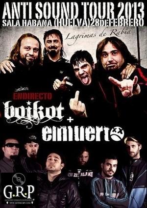 Cancelado el concierto de Boikot en Huelva