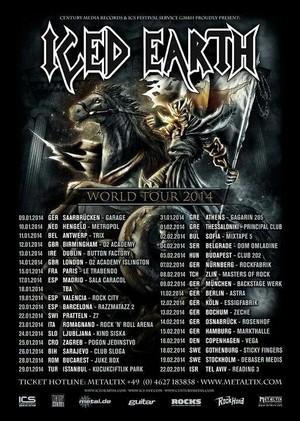 Iced Earth nos visitarán en 2014