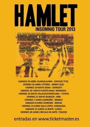 Aplazado el concierto de Hamlet en Pamplona