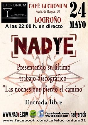 Concierto número 200 de Nadye