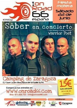 Sôber en el On Road 66 Zaragoza