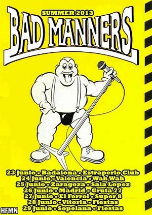 Bad Manners: mañana en Madrid