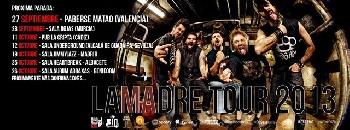 Xkrude: primeras fechas de la gira LaMadre