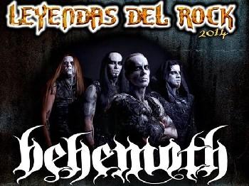 Behemoth confirmados para el Leyendas 2014