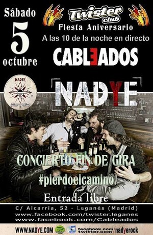 Nadye: Fin de gira este sábado en Leganés