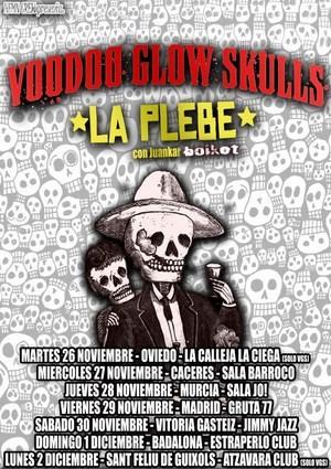 Voodoo Glow Skulls: a finales de noviembre