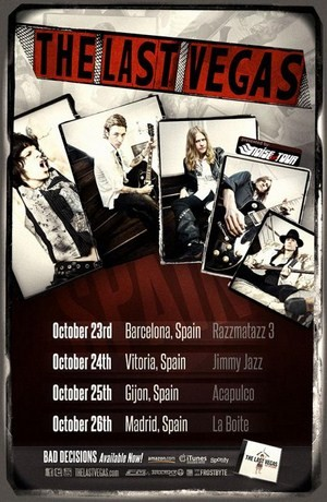 Comienza la gira española de The Last Vegas