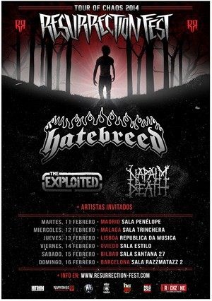 Tour Of Chaos 2014 Resurrection Fest