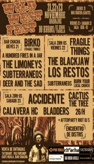 Primera edición del Wild West Fest