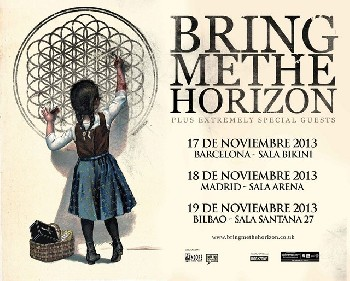 Ya llegan Bring Me The Horizon