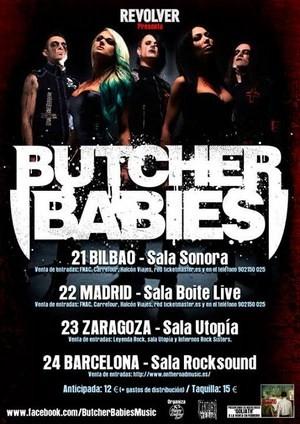 Butcher Babies: gira estatal en febrero