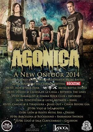 Agónica: bass playthrough y más fechas