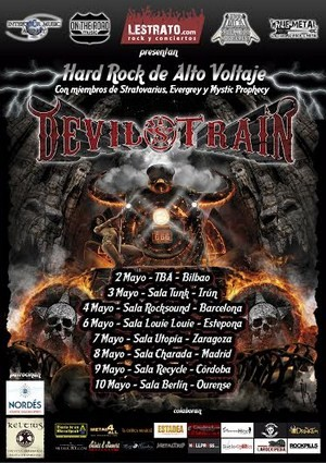 Gira estatal de Devil's Train en mayo