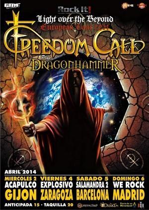Freedom Call regresan en abril