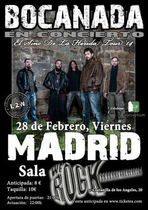 Sorteamos una entrada doble para Bocanada en Madrid